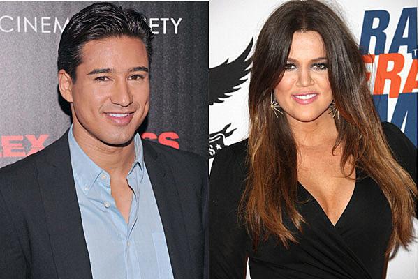 Mario Lopez and Khloe Kardashian