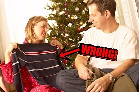 Man Giving Bad Gift