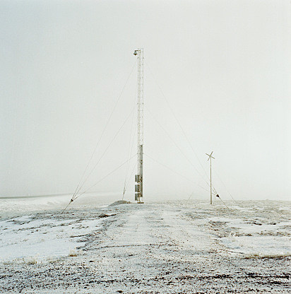 Radio Tower in the Winter