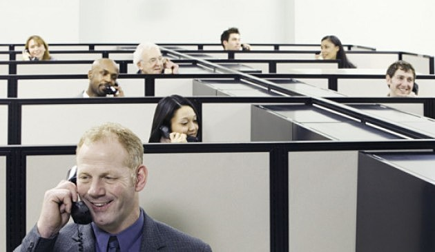 Workers in Cubicles