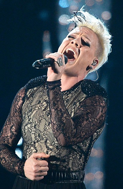 Pink at the Grammys