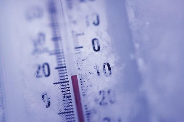 Sub zero weather