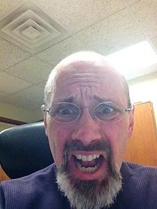My selfie. Yikes!