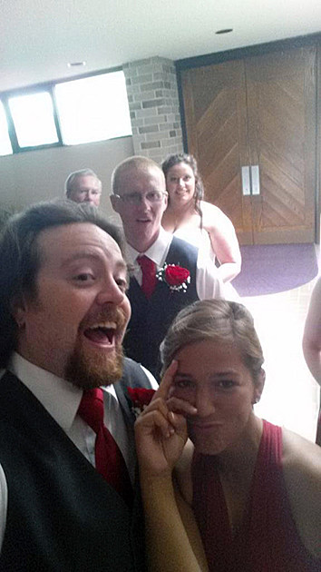 Submitted Via Twitter at #sprintframilyselfie by Kelly Kannenberg
