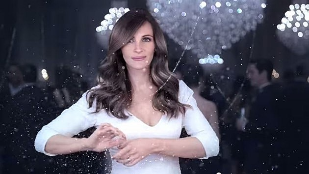Julia Roberts in Lancome commercial