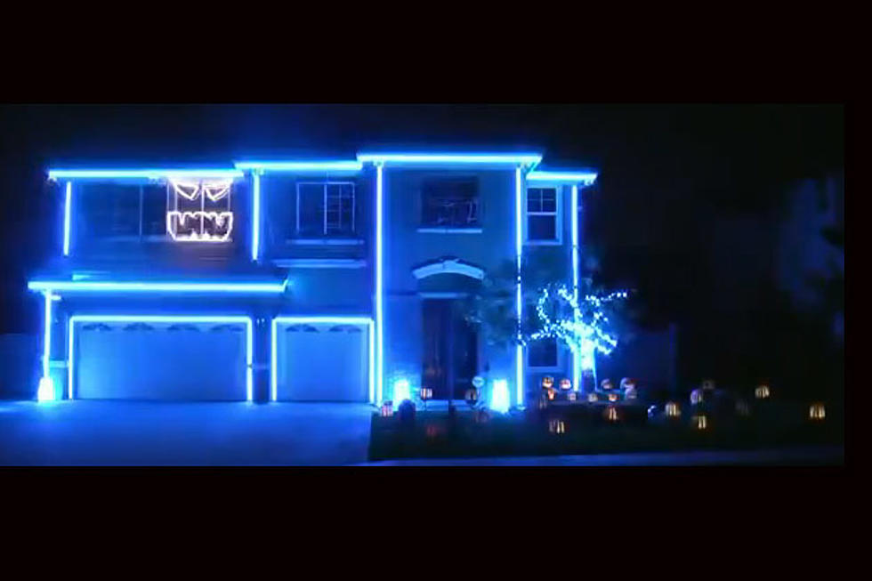 Halloween Light Show Set to 'Party Rock Anthem' by LMFAO