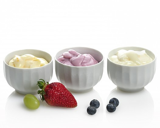 Yogurts With Fruits