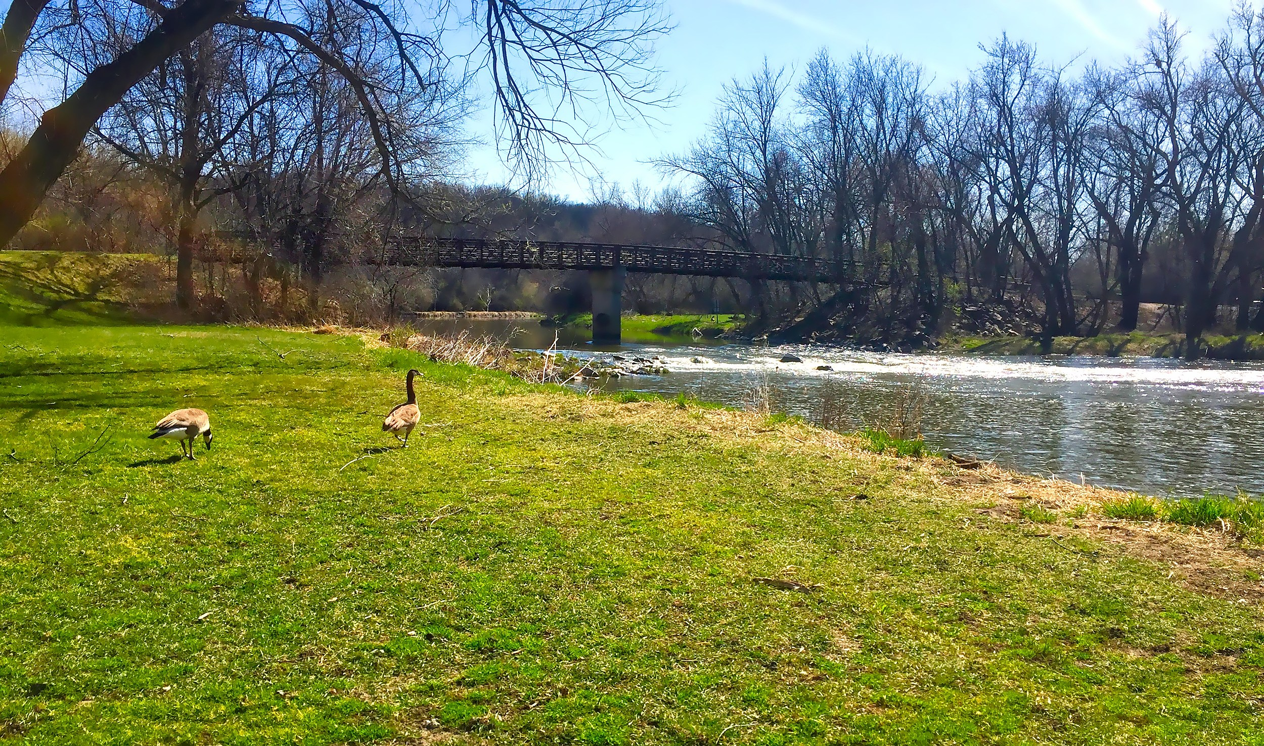 Springtime On The Sioux Falls Bike Trails