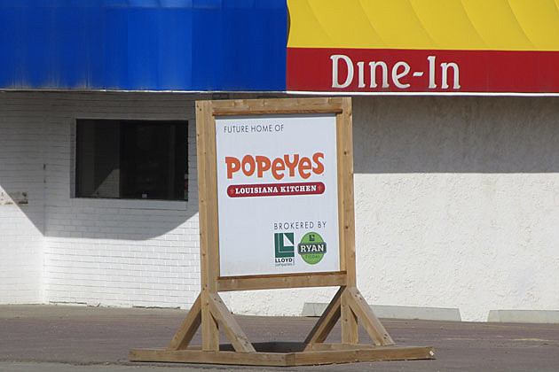 fast food chain popeyes louisiana kitchen was coming to sioux falls