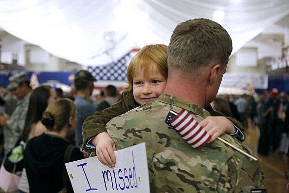 Soldiers From 4th Brigade Combat Team Return From Afghanistan Deployment