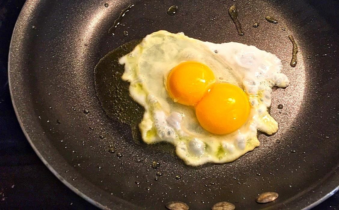 Double Yoke Eggs