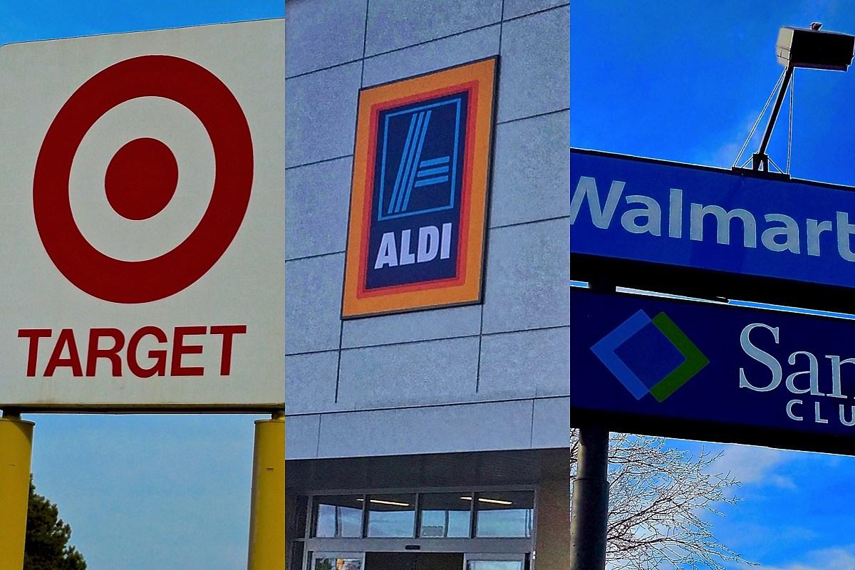 Target, Aldi, Walmart Sioux Falls