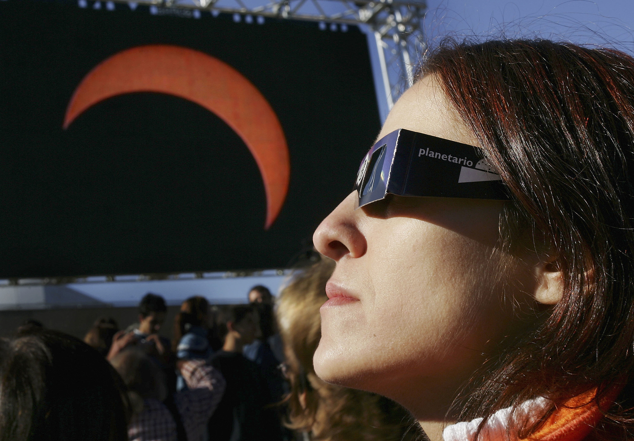 Partial Eclipse Casts Shadow Over Europe