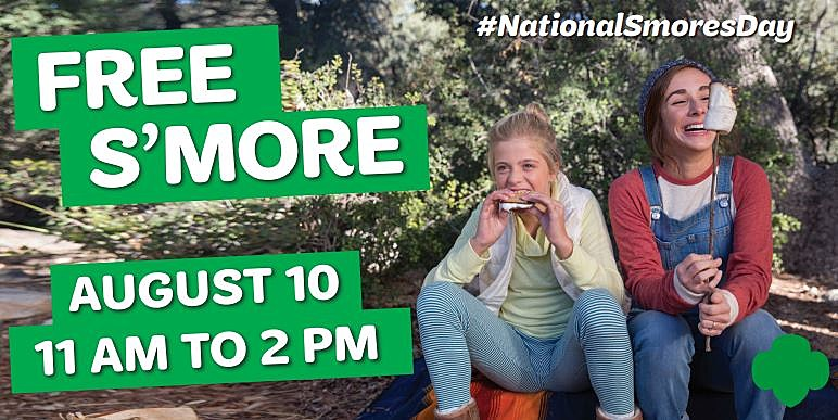 Girl Scouts National S'mores Day