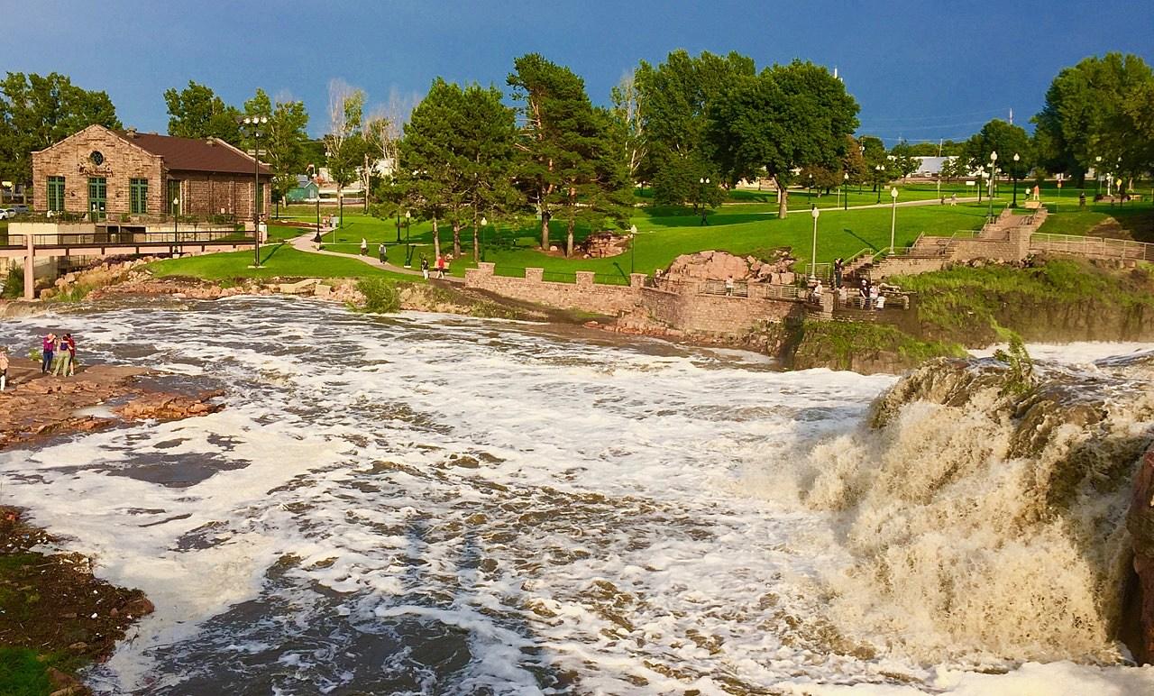 Falls Park Storm