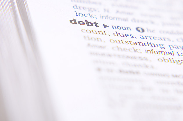 debt definition in dictionary