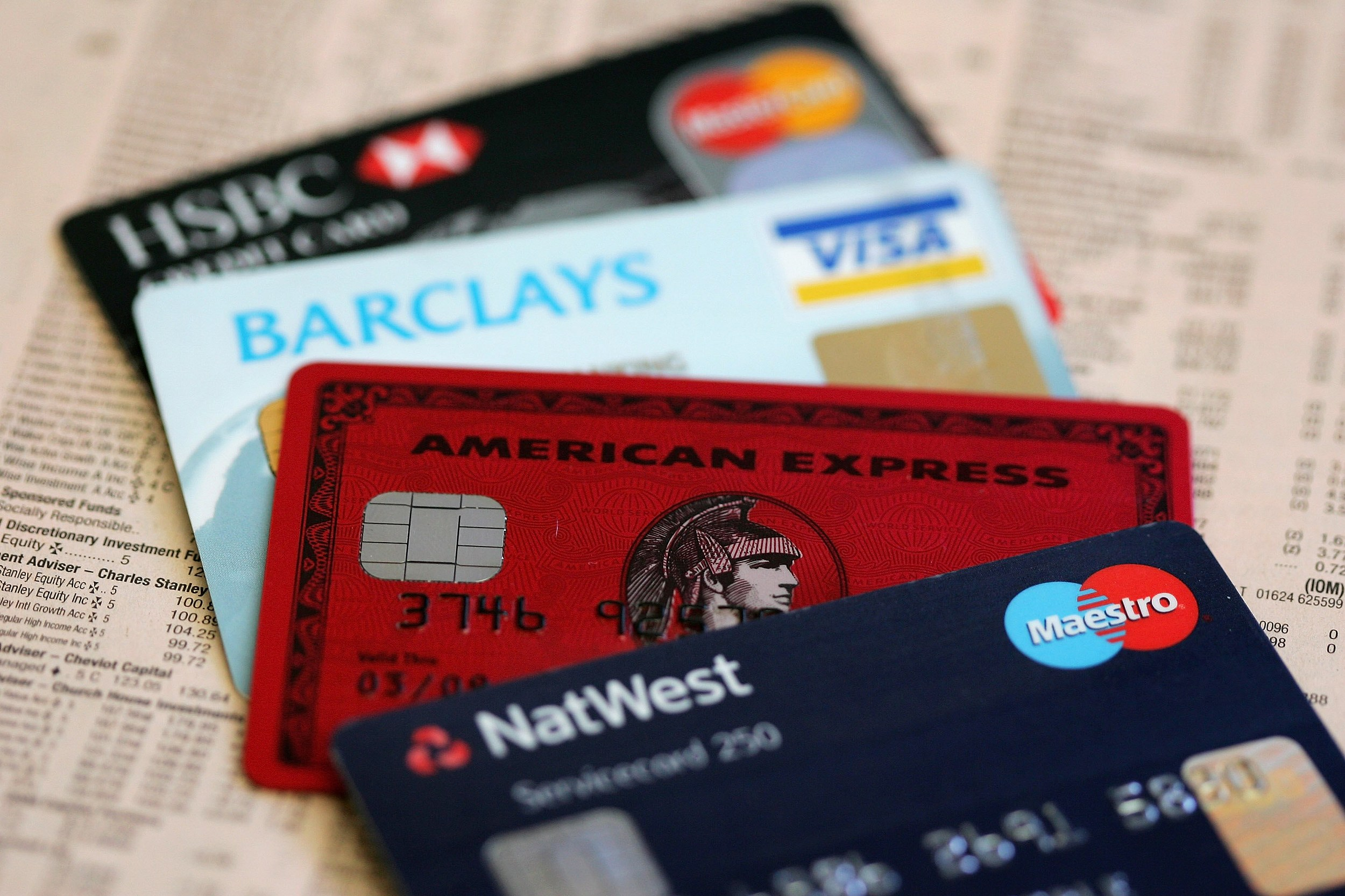 Britons Set To Double Credit Card Spend