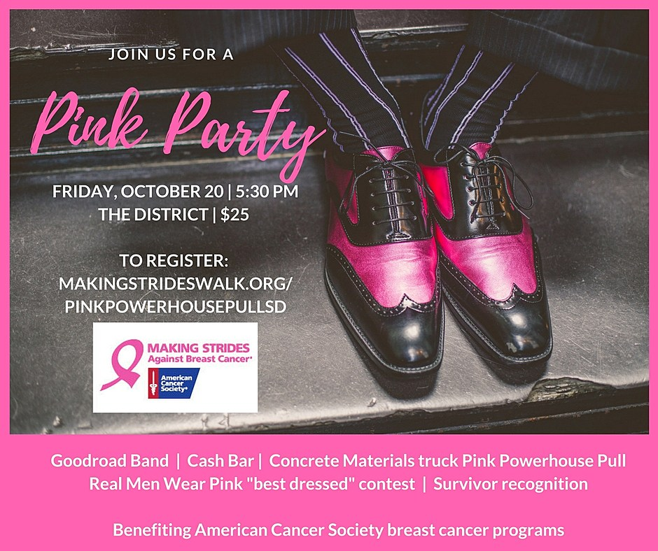PINK PARTY INVITE