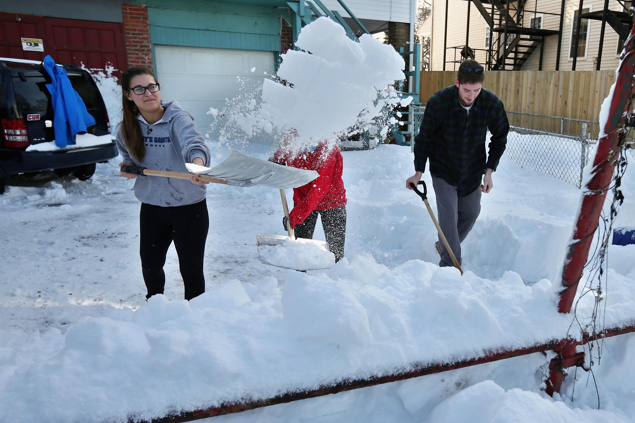 U.S. East Coast Digs Out After Historic Snowstorm